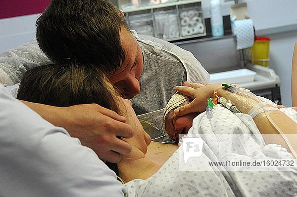 Geburt  Geburt Mutterschaft von abbeville