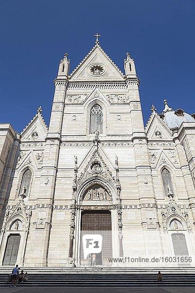 Kathedrale von Neapel  Neapel  Italien  Europa