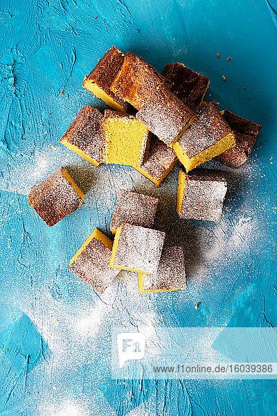 Glutenfreier Clementinenkuchen mit gemahlenen Mandeln