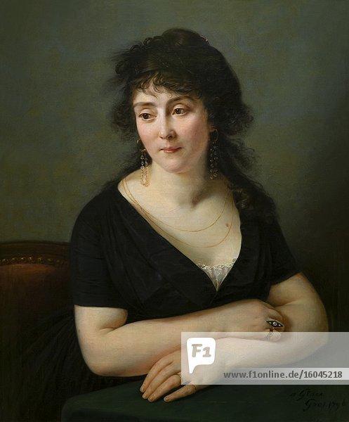 Portrait of Madame Bruguiere  Antoine-Jean Gros  1796 .