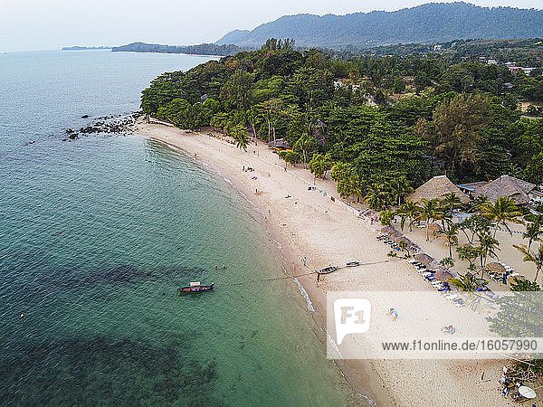 Sea and beach  Koh Lanta  Thailand