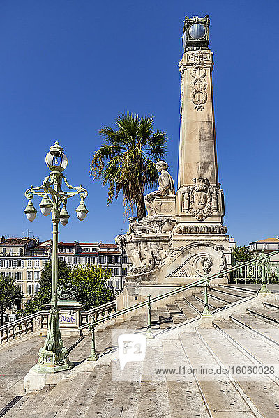 Grand staircase of Saint-Charles railway station; Marseilles  France