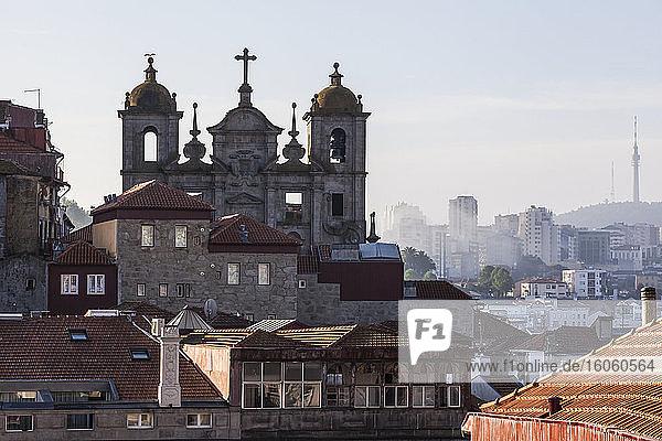 Porto cityscape in the morning; Porto  Portugal
