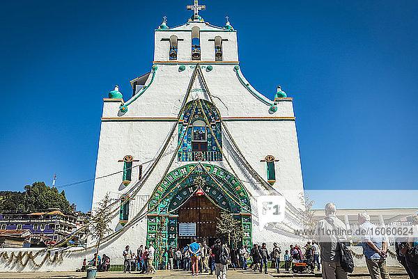 San Juan Chamula church; San Juan Chamula  Chiapas  Mexico