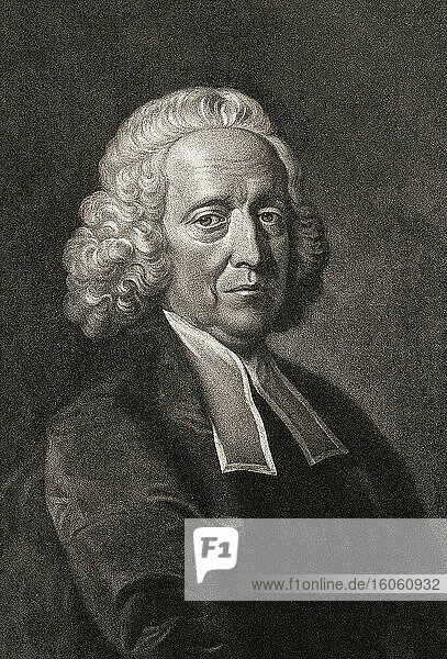 Stephen Hales  1677 - 1761. English clergyman and scientist.