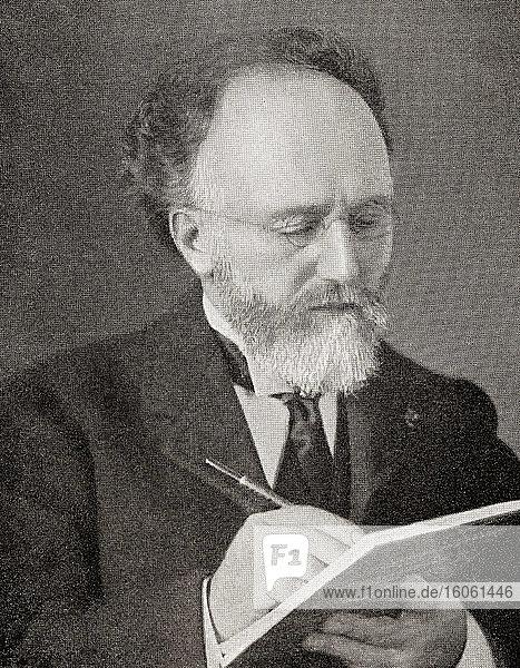 Sir Richard Trevithick Tangye  1833 - 1906. Britischer Hersteller von Motoren und schwerem Gerät. Aus The Business Encyclopaedia and Legal Adviser  veröffentlicht 1907.