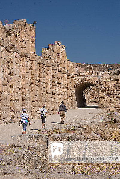 Asia  Middle East  Jordan  Jerash Archeological City