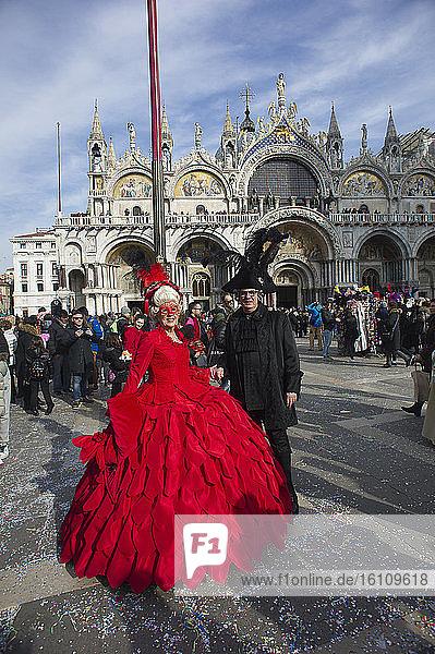 Europe  Italy  Veneto  Venice  Venice carnival  Carnival masks