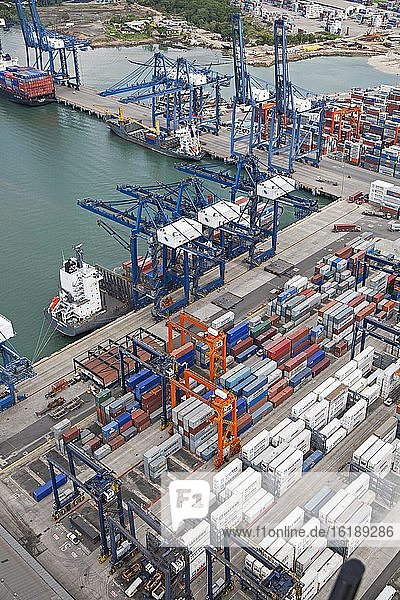 Hafen von Balboa am Panamakanal  Provinz Colón  Panama  Mittelamerika