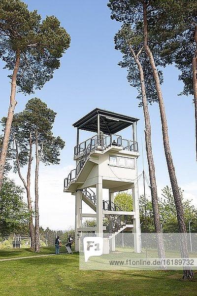 US-Beobachtungsturm  Gedenkstätte Point Alpha  Rasdorf  Hessen  Geisa  Thüringen  Deutschland  Europa