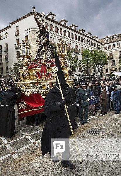 Die Großvaterprozession  Kathedrale von Jaen  Spanien  Europa