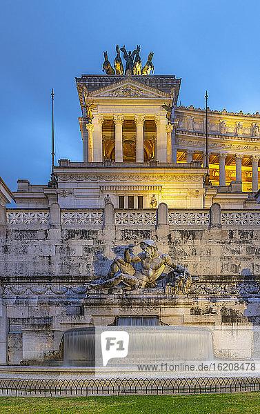 Vittorio-Emanuele-II-Denkmal  Altare della Patria (Altar des Vaterlandes)  Rom  Latium  Italien  Europa