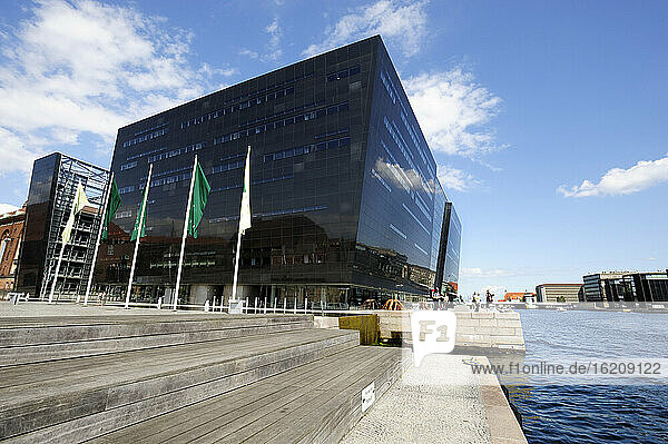 Denmark  Copenhagen  View of Royal Danish Library