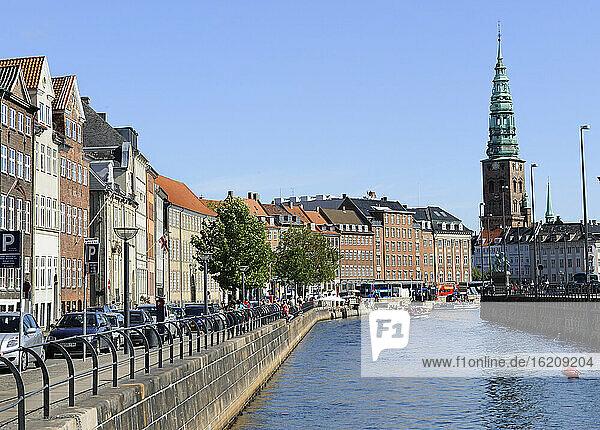 Denmark  Copenhagen  View of Frederiksholm Kanal