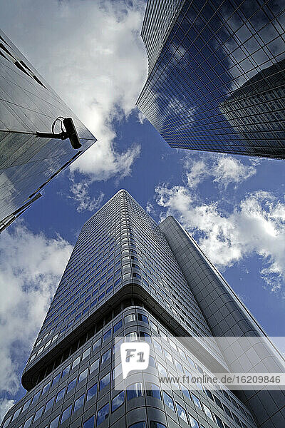 Germany  Frankfurt on the Main  Financial district  Dresdner Bank Building  Low angle view