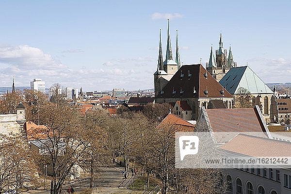 Germany  Erfurt  Citiscape