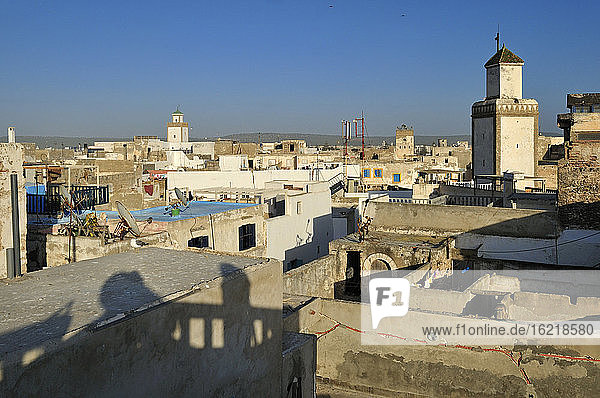 Morocco  Essaouira  View of old town