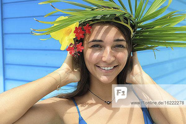 Porträt eines exotischen Mädchens