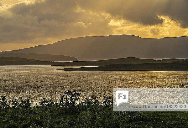 Europe  Great Britain  Scotland  Hebrides  Isle of Skye  Glendale  Neist Point (extreme west of Isle of Skye)