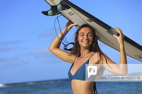 Beautiful surfer
