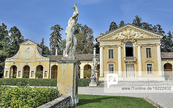 Italien  Venetien  Villa Veneta Barbaro (Villa Volpi) (16. Jahrhundert  von Andrea Palladio)