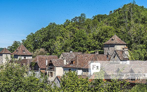 France  Occitanie  Quercy  Lot  Montvalent village