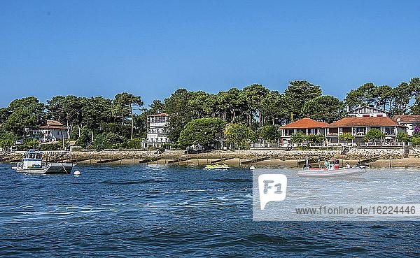 France  Arcachon bay  Cap Ferret  villas in Piquey