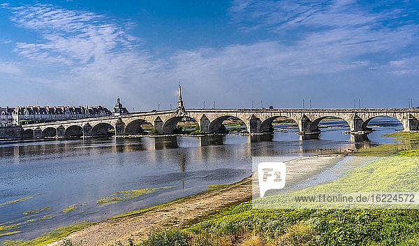 France  Center-Val de Loire  Loir et Cher  bridge over the Loire in Blois