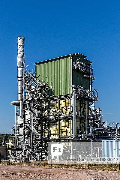 Wasserstoff-Produktionsanlage der Linde AG  Leuna  Deutschland  Europa