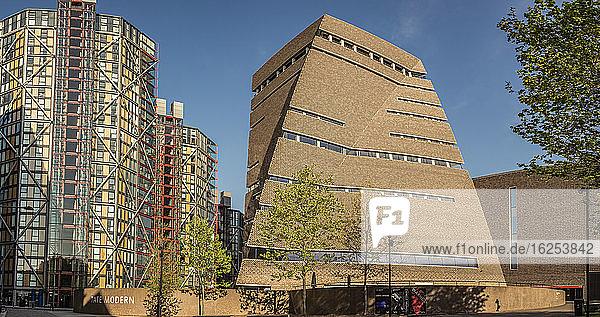 Tate Modern  Wechselstube; London  England