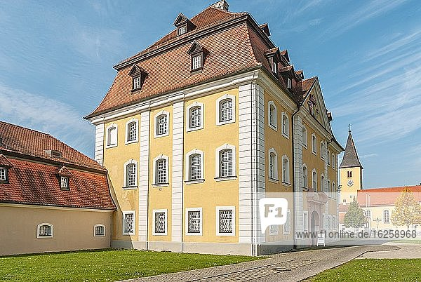 Theuern Castle in Kuemmersbruck  Bavaria  Germany.