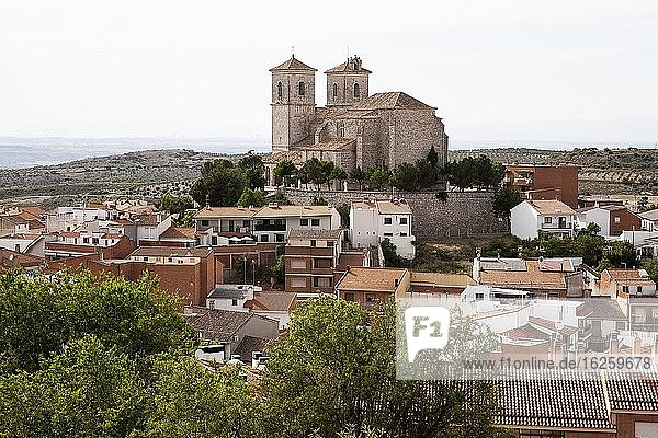 Church of Our Lady of the Castle  CAMPO REAL  MADRID province  SPAIN  EUROPE.