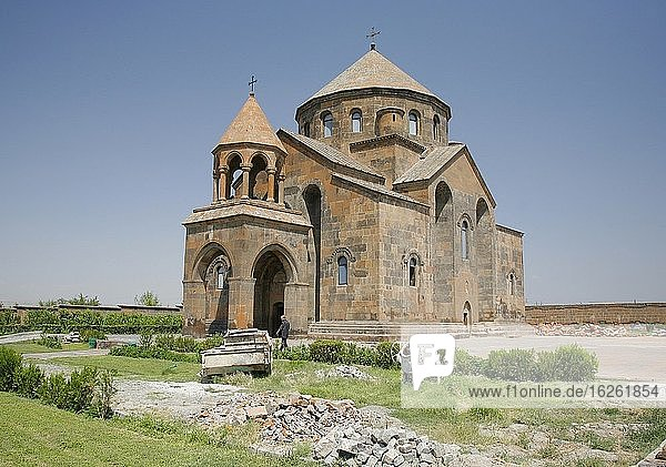 St Hripsimeh church built in 618 AD. Hripsimeh was a young lady who was killed when she refused to marry King Trdates on the 3rd  because of her faith. Echmiadzin in Armenia.