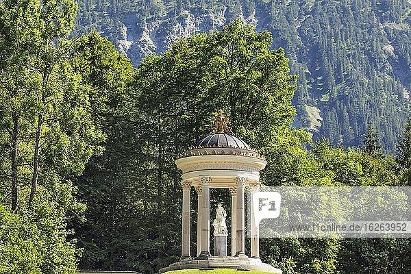 Temple of Venus  Linderhof Castle  Upper Bavaria  Bavaria  Germany  Europe