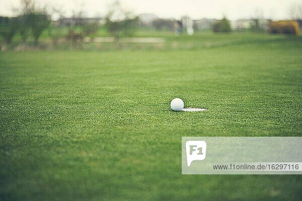 Germany  Duesseldorf  golf ball