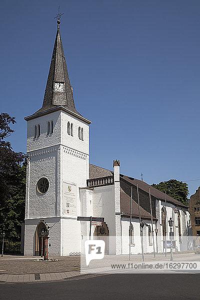 Germany  North Rhine-Westphalia  Rheinberg  Orsoy  Evangelic church