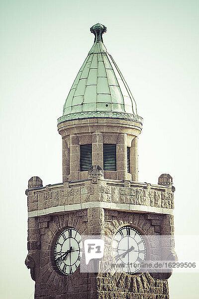 Germany  Hamburg  St Pauli  Clock tower