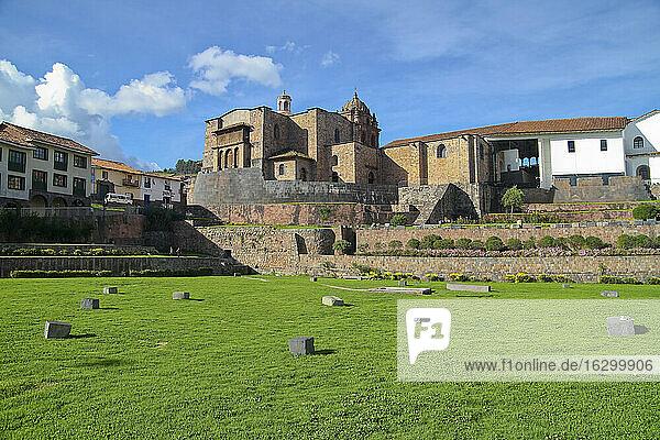 South America  Peru  Cusco  Qurikancha Temple