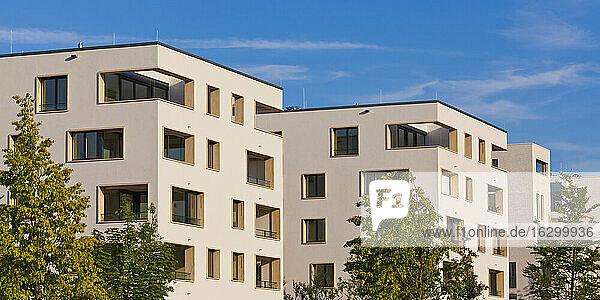 Deutschland  Baden-Württemberg  Stuttgart  Killesberg  exklusive Eigentumswohnungen  Architekturbüro baumschlager eberle