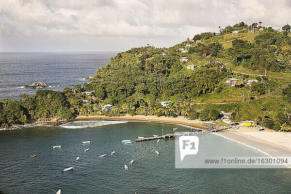 Caribbean  Antilles  Lesser Antilles  Trinidad and Tobago  Tobago  Parlatuvier Bay
