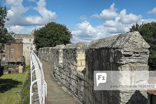 Great Britain  England  York  city wall