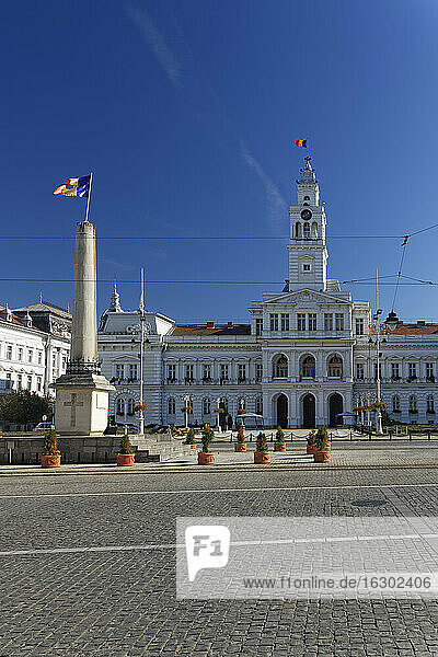 Rumania  Crisana  Arad  Town hall
