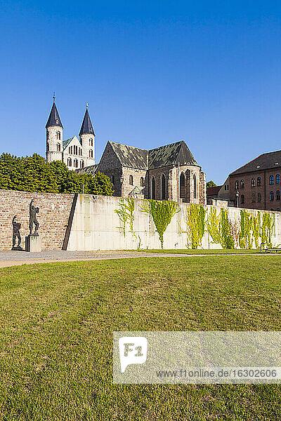 Germany  Saxony-Anhalt  Magdeburg  Unser Lieben Frauen Monastery