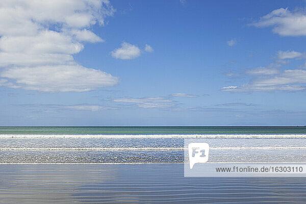 New Zealand  Pacific ocean near Orewa