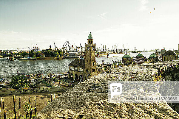 Germany  Hamburg  St Pauli Landing Stages