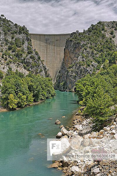 Turkey  Antalya Province  Manavgat  Oymapinar Dam