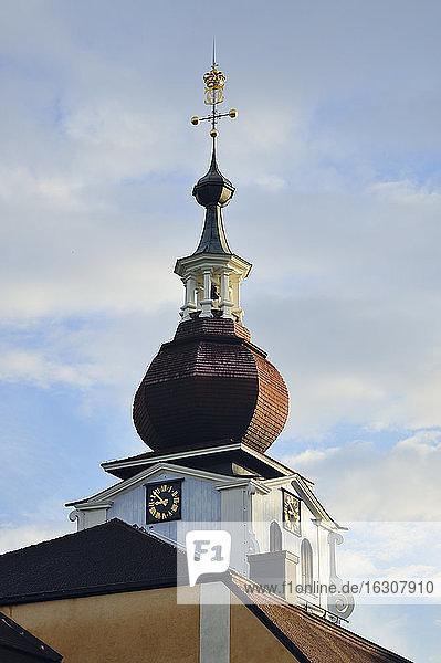 Sweden  Leksand  Bulbous spire of the church