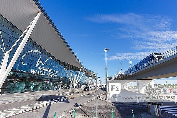 Regional Railway and Terminal of Gdansk Airport Gdansk Lech Walesa Airport (GDN)  Gdansk  Poland  Europe