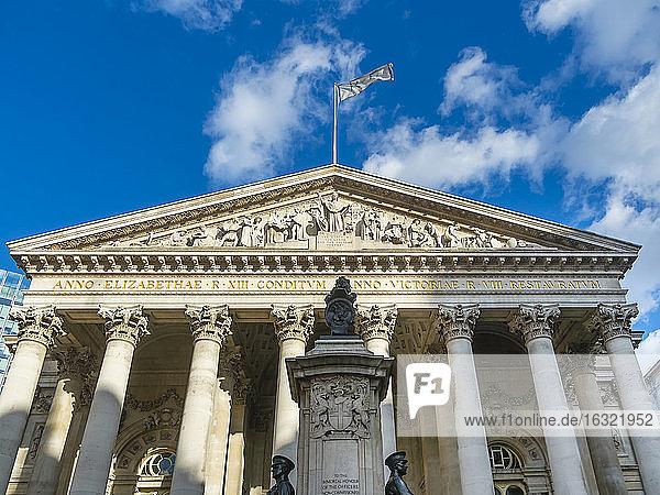 UK  London  City of London  Bank of England