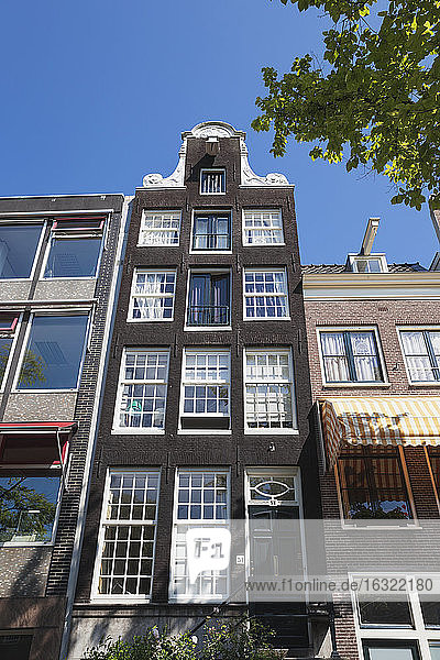 Netherlands  County of Holland  Amsterdam  Keizersgracht  Facade of canal house
